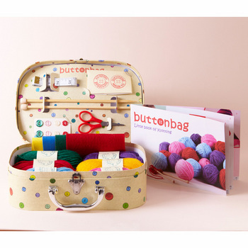 Buttonbag Children's Knitting Kit