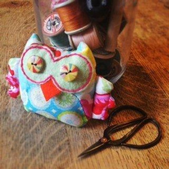 Patchwork Owl Sewing Kit, by the Crafty Kit Company