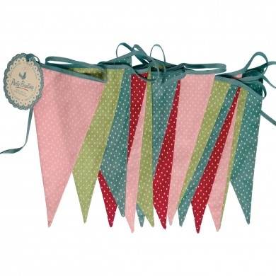 Retro style Spotty Bunting