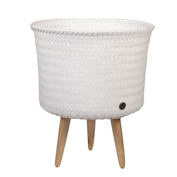 Up Mid Storage Basket/Planter - Simply White
